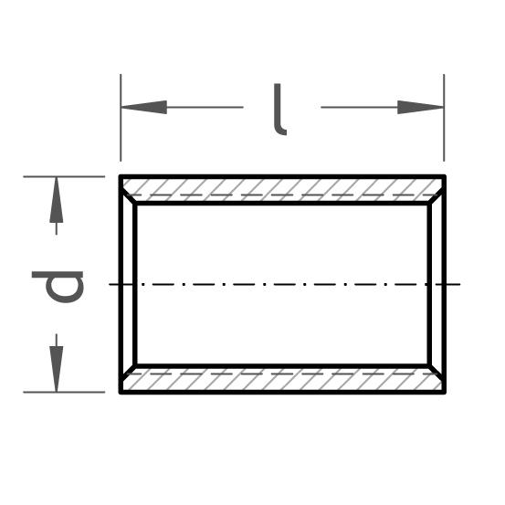 16 Stahlmuffe Sonderlänge - Gröditzer Fittings GmbH A.L.