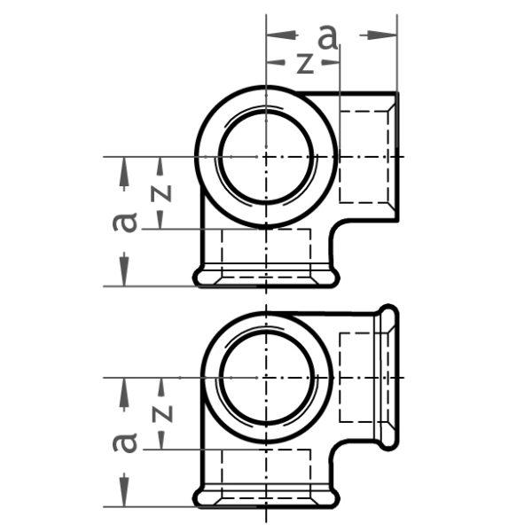 221 Winkelverteiler - Gröditzer Fittings GmbH A.L.