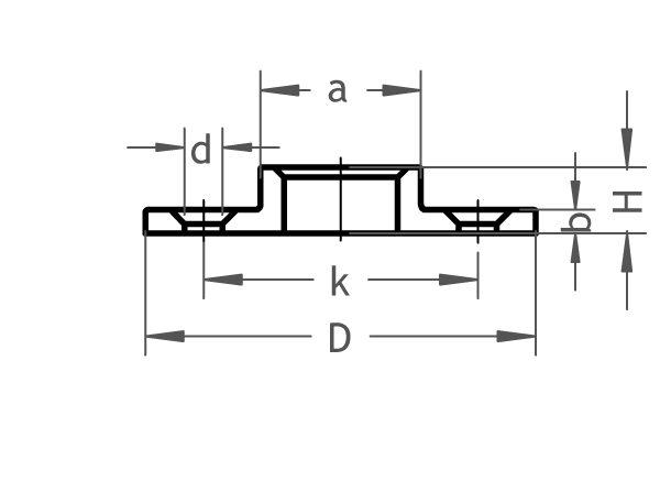 321 B Gewindeflansch gebohrt - Gröditzer Fittings GmbH A.L.
