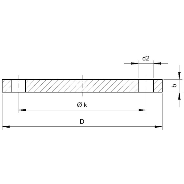 Typ 05 Blindflansche - Gröditzer Fittings A.L.