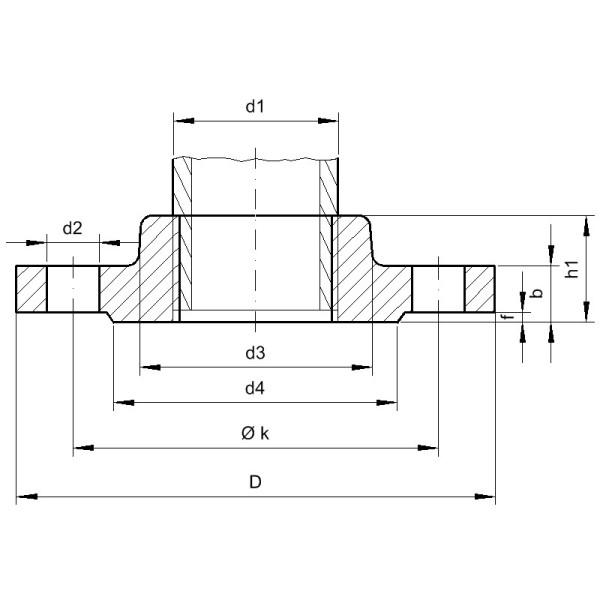 Typ 13 Gewindeflansche - Gröditzer Fittings A.L.